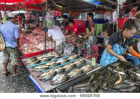 Chicken Fish Vendors