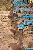 picture of cultivator-harrow  - Agricultural machinery - JPG