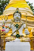 pic of genital  - Thai Angels Statue In Temple  - JPG