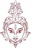 foto of durga  - Durga - JPG