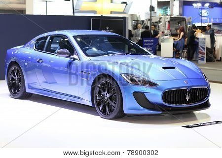 Bangkok - November 28:image Zoom Of Maserati Car On Display At The Motor Expo 2014 On November 28, 2