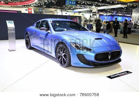 Bangkok - November 28: Maserati Car On Display At The Motor Expo 2014 On November 28, 2014 In Bangko