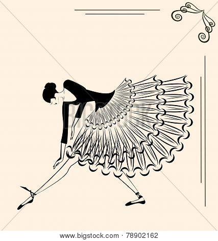 image of ballet girl