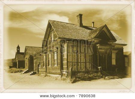 Cain home, Bodie, California