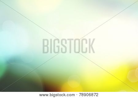Blurred Bokeh Web Background