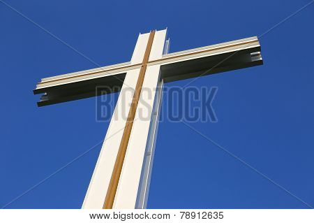 Top Section Of The Papal Cross In Dublin