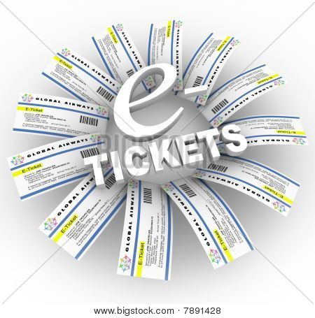 E-tickets Word Ring