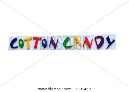 Cotton Candy Sign