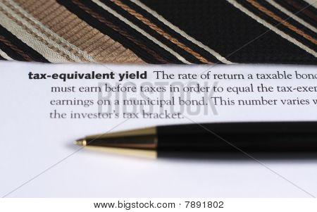 Tax Equivalent Yield