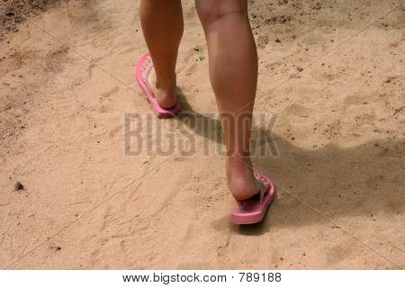 Fracaso de tirón de pies
