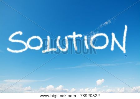 Solution In The Sky