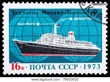 Ship Mikhail Lermontov
