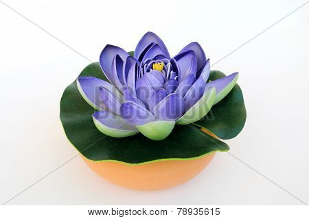 Purple Artificial Lotus