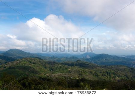 Viewpoint On Island Of Phuket