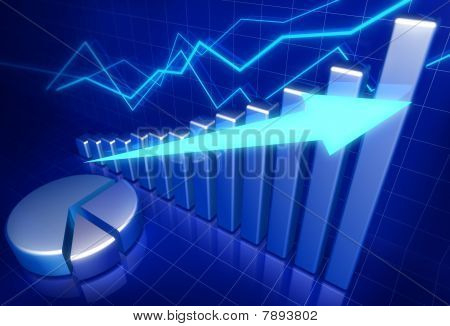 Business Financial Growth Concept