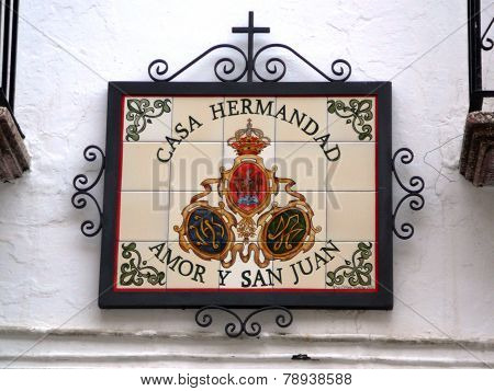 Brotherhood Plaque