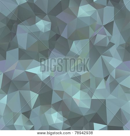 Crystals frozen background. Design template. Seamless pattern. Vector illustration