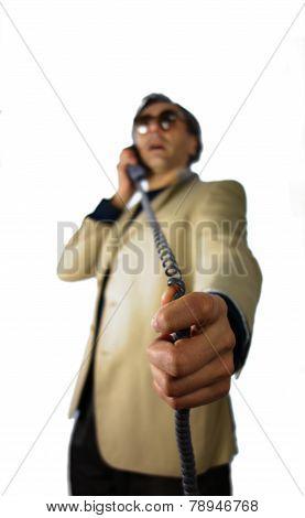 Phone Call Man