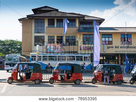 Tuk Tuk Station Tangalle