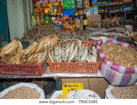 Dried Fish And Seafood