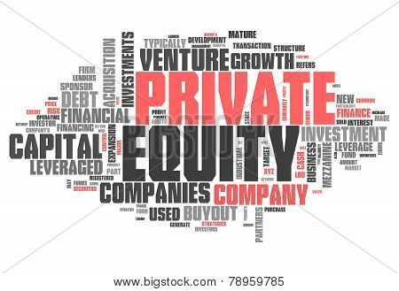 Word Cloud Private Equity