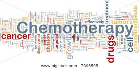 Medical Chemotherapy Background Concept