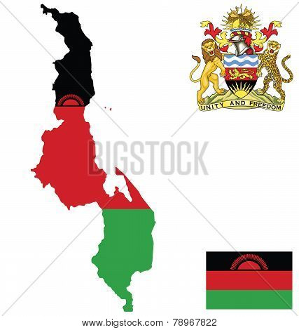 Republic of Malawi Flag