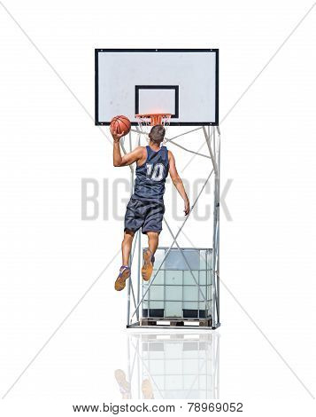 Jumping To The Hoop