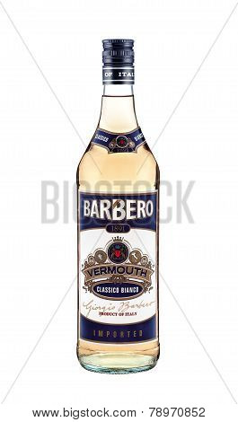 Bottle Of Barbero Vermouth Classico Bianco