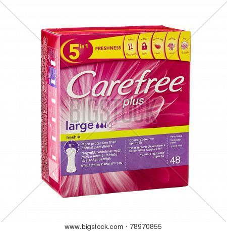 Carefree Plus Fresh Large Panty Liners
