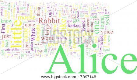 Cloud - Alicia en el país de las maravillas de la palabra