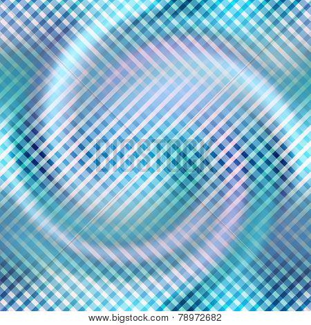 Diagonal plaid pattern on blur spiral background.