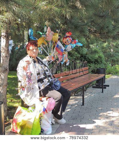 Street Vendor Women