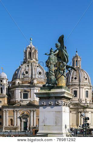 Church Santa Maria Di Loreto, Rome