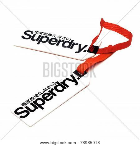Superdry Clothes Tags