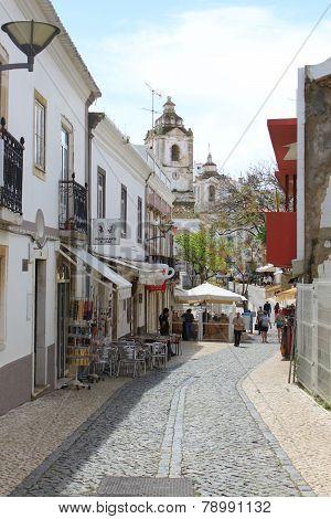 A Street In Lagos, Algarve, Portugal