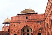 foto of mughal  - Agra Fort is a UNESCO World Heritage site in Agra Uttar Pradesh India - JPG