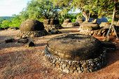 picture of megaliths  - Ancient megalithic stones contain magic propeties are sacred for local society - JPG