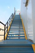 pic of firehouse  - Fire Escape Stairs Or The Emergency Exit - JPG