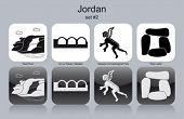 stock photo of jabal  - Landmarks of Jordan - JPG