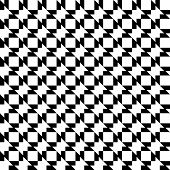 foto of trapezoid  - Black and white geometric seamless pattern with trapezoid abstract background vector illustration - JPG