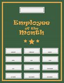 picture of employee month  - Employee Of The Month Award Kit - JPG