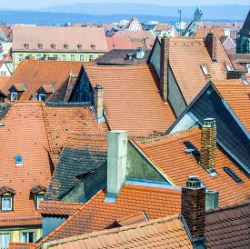 foto of regnitz  - In the old town of Bamberg Germany - JPG