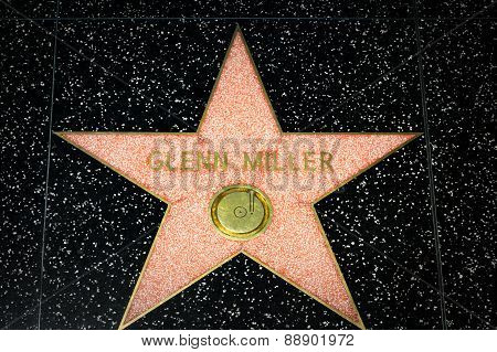 Glenn Miller Star On The Hollywood Walk Of Fame