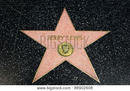 Jeffy Lewis Star On The Hollywood Walk Of Fame