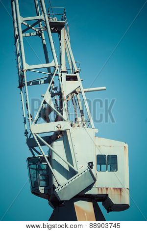 Dockside Crane,wellington Harbour New Zealand.