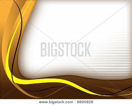 brown/yellow background template