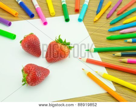 Drawing Strawberry