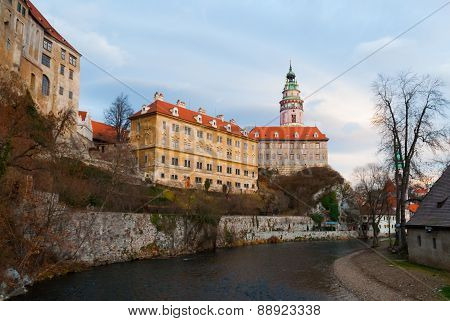 Castle Of Cesky Krumlov - Czech Republic