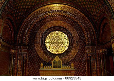 Spanish Synagogue In Prague, Czech Republic